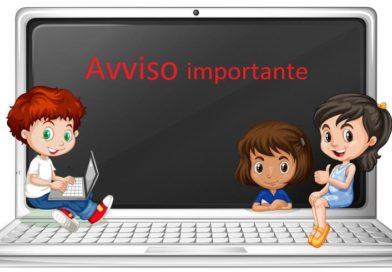 AVVISO: dispositivi e connettività in comodato d'uso